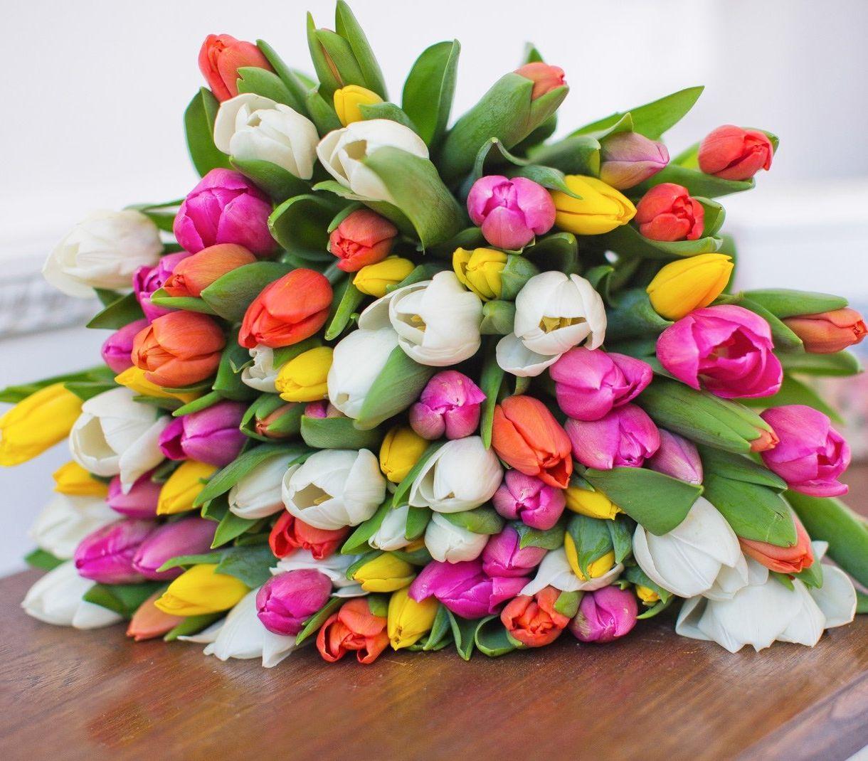 Красивый букет тюльпаны картинки